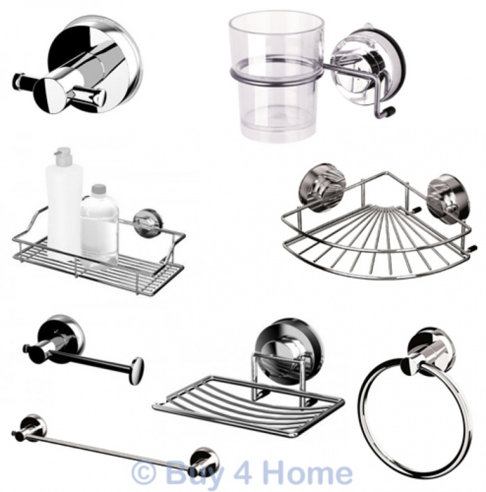 blue canyon stainless steel gecko suction bathroom accessories, Home design